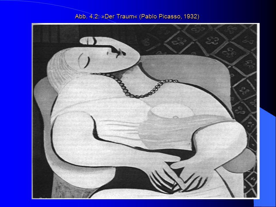 Abb. 4.2: »Der Traum« (Pablo Picasso, 1932)