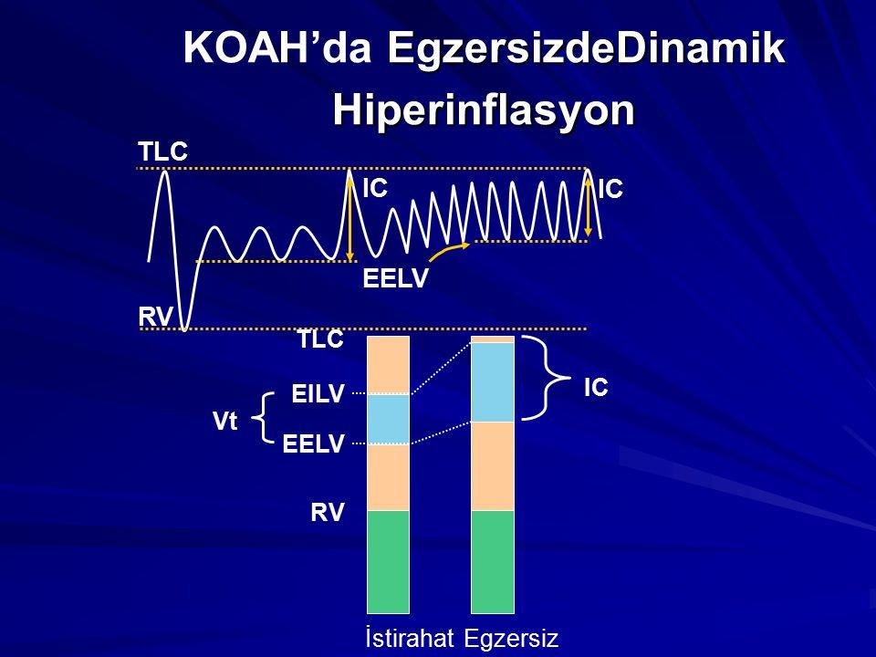 KOAH'da EgzersizdeDinamik Hiperinflasyon