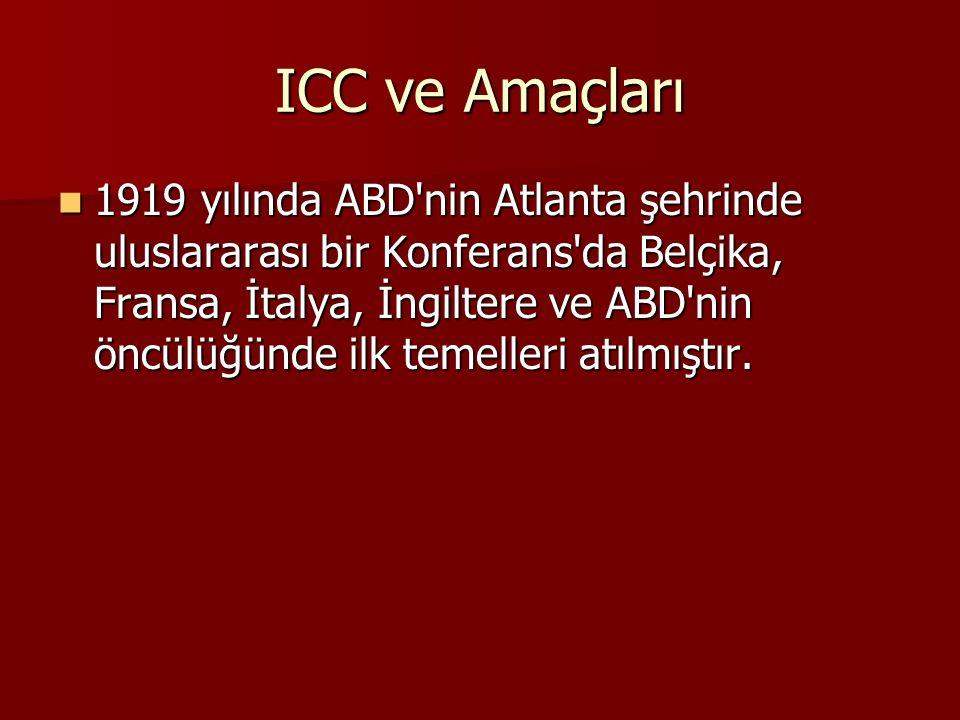 ICC ve Amaçları
