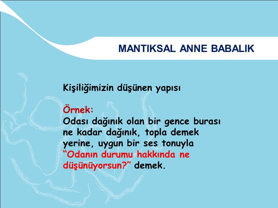 MANTIKSAL ANNE BABALIK