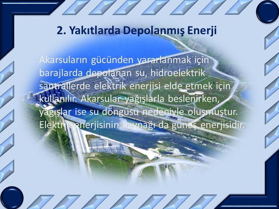 2. Yakıtlarda Depolanmış Enerji