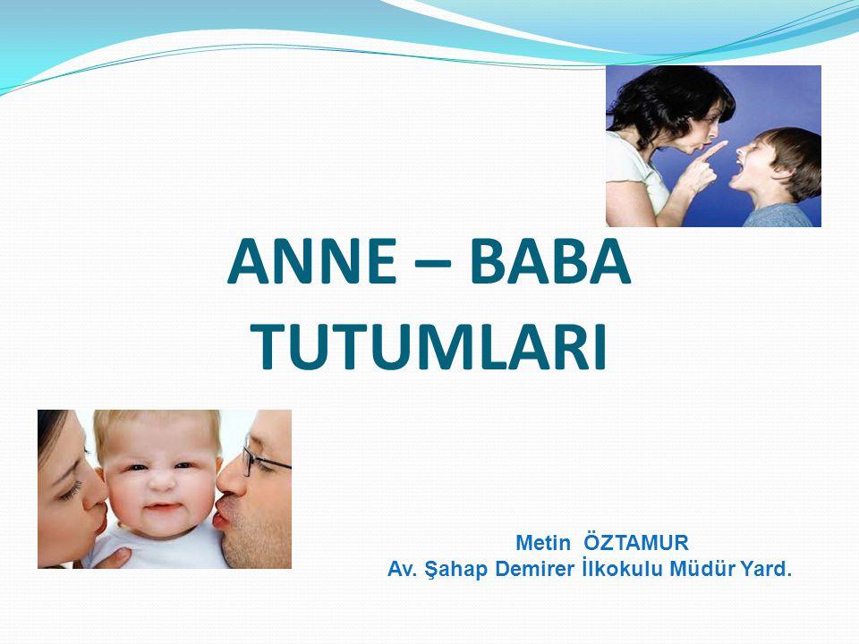 Metin ÖZTAMUR Av. Şahap Demirer İlkokulu Müdür Yard.
