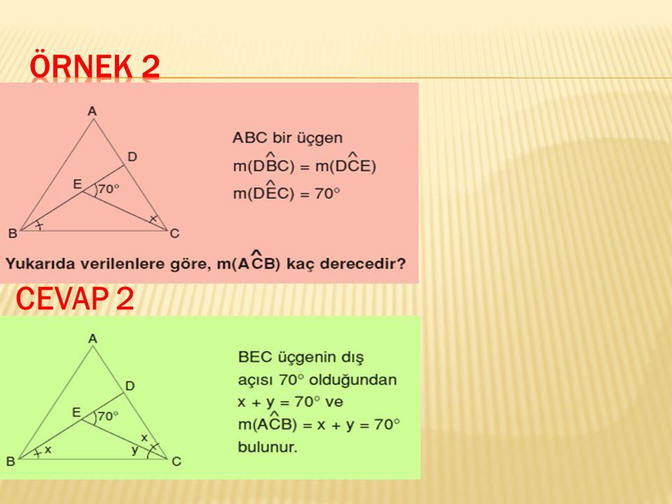 Örnek 2 CEVAP 2