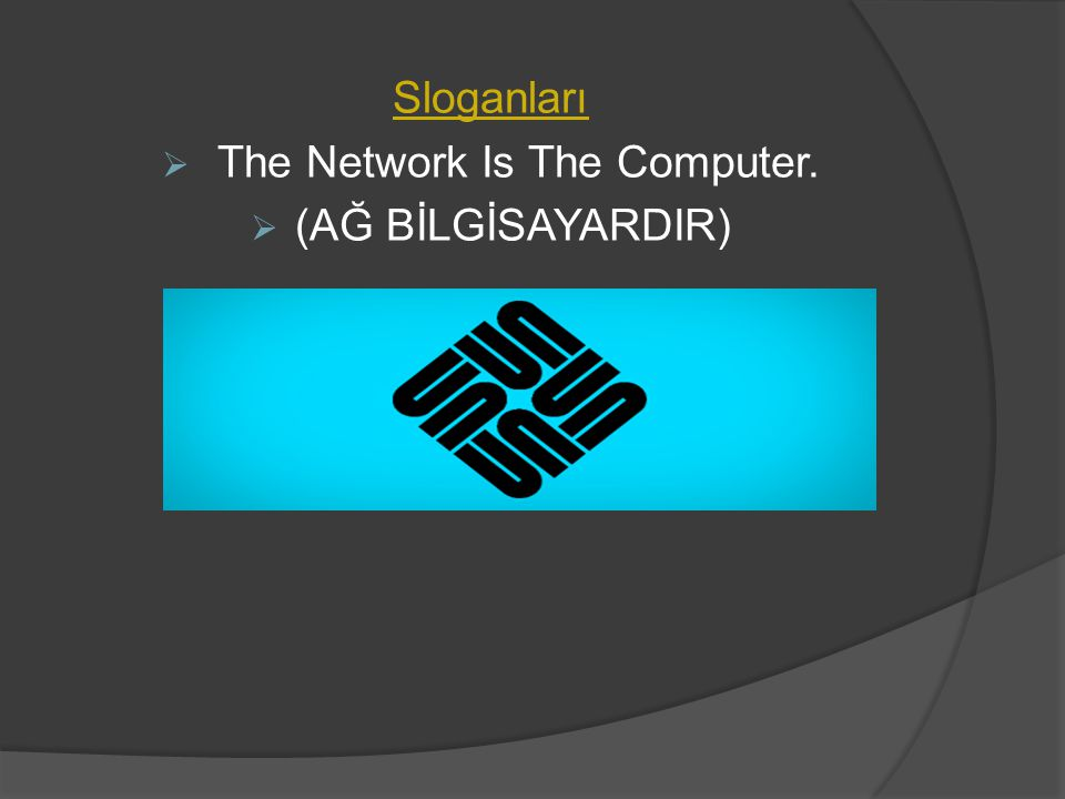 The Network Is The Computer.