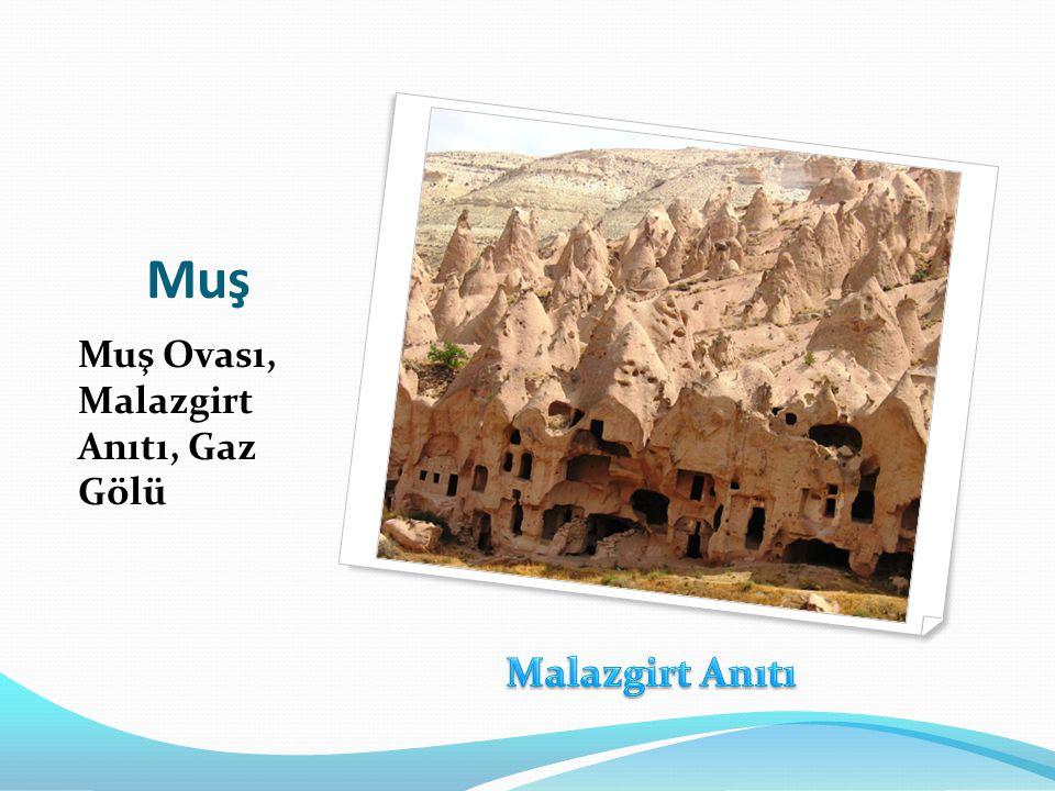 Muş Muş Ovası, Malazgirt Anıtı, Gaz Gölü Malazgirt Anıtı