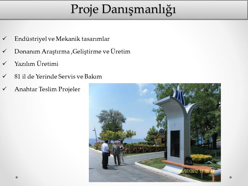Proje Danışmanlığı Endüstriyel ve Mekanik tasarımlar