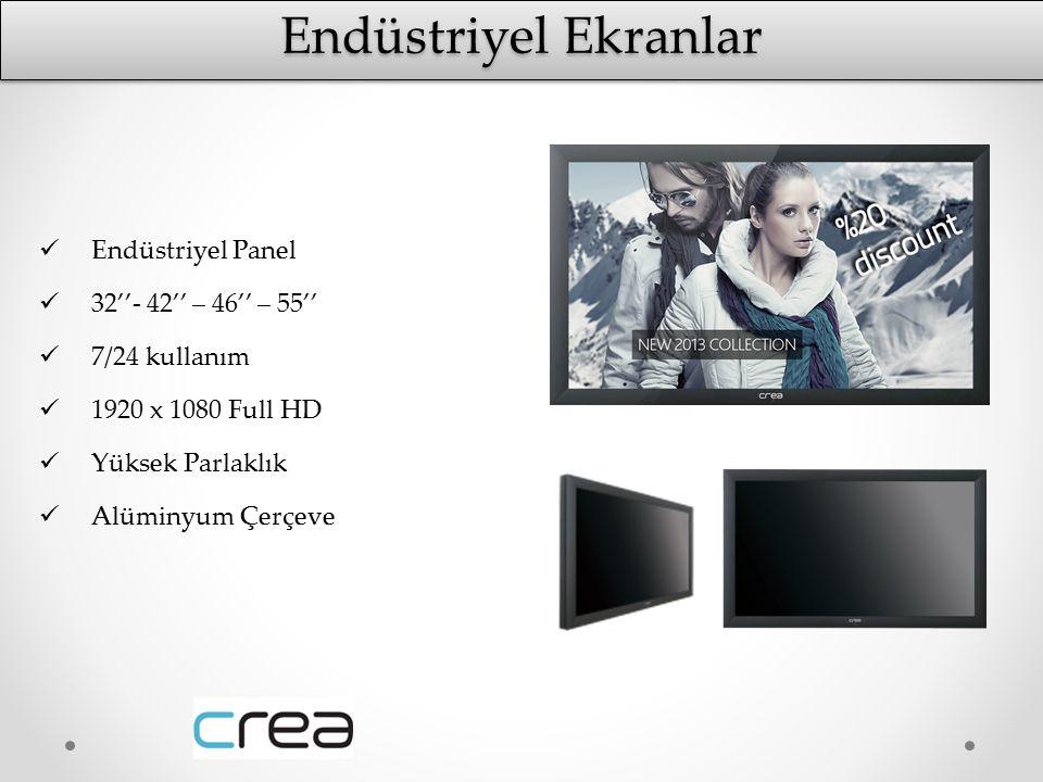 Endüstriyel Ekranlar Endüstriyel Panel 32''- 42'' – 46'' – 55''