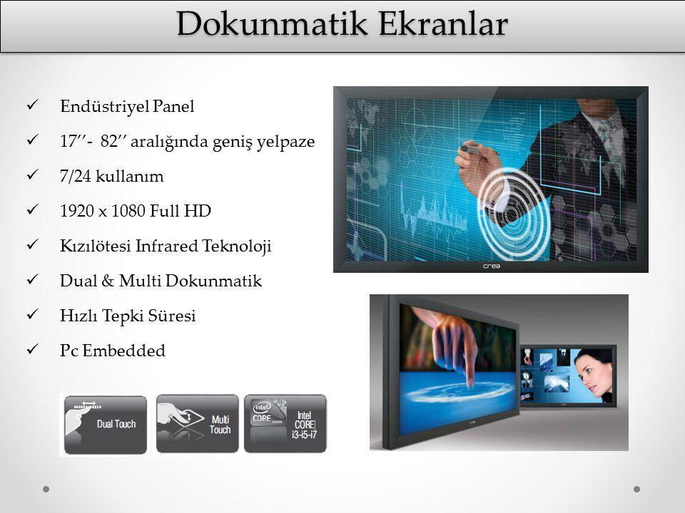 Dokunmatik Ekranlar Endüstriyel Panel