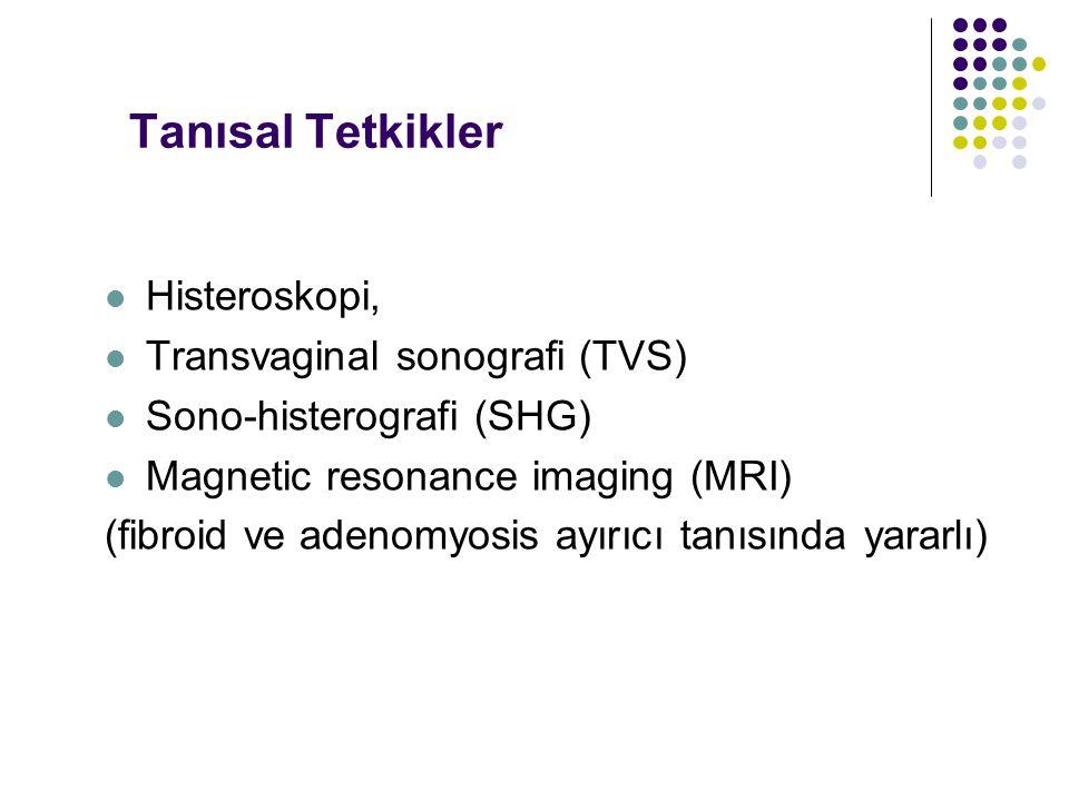 Tanısal Tetkikler Histeroskopi, Transvaginal sonografi (TVS)