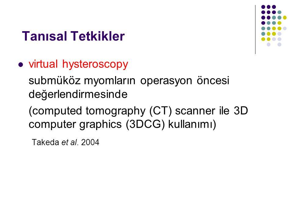 Tanısal Tetkikler virtual hysteroscopy