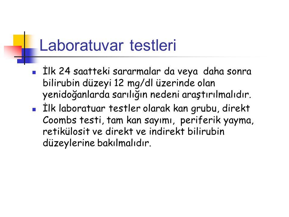Laboratuvar testleri