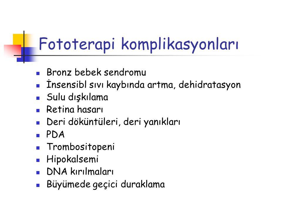 Fototerapi komplikasyonları