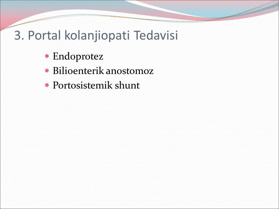 3. Portal kolanjiopati Tedavisi