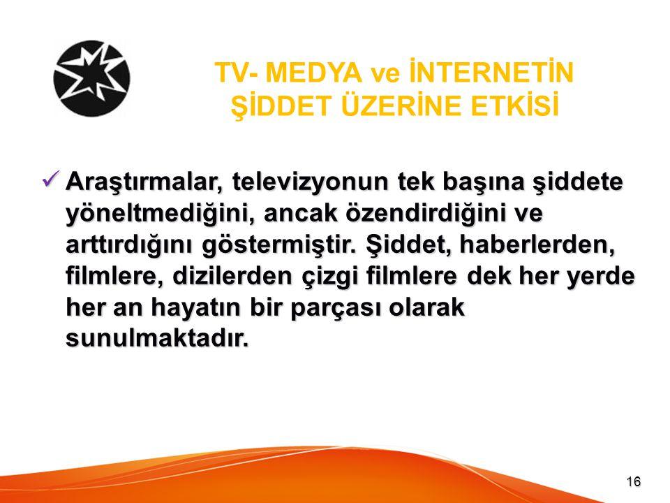 TV- MEDYA ve İNTERNETİN