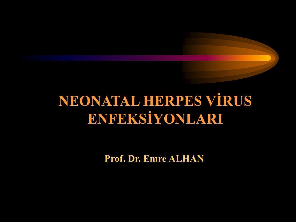 NEONATAL HERPES VİRUS ENFEKSİYONLARI