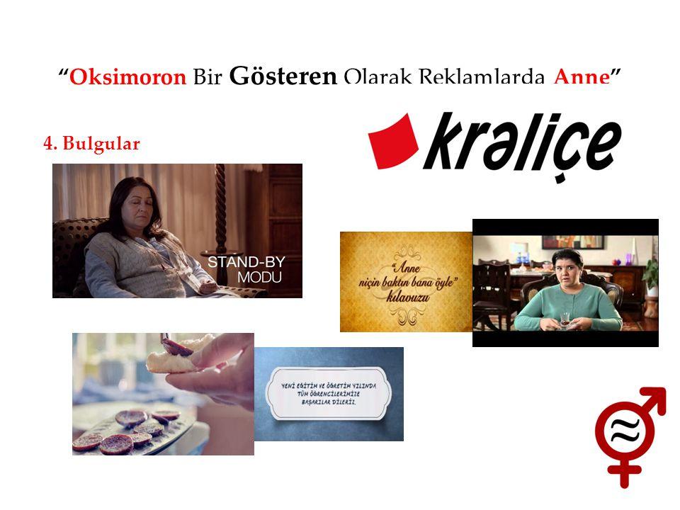 Oksimoron Bir Gösteren Olarak Reklamlarda Anne