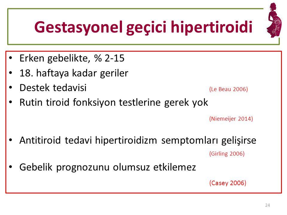 Gestasyonel geçici hipertiroidi