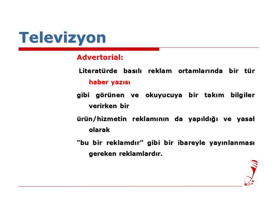 Televizyon Advertorial: