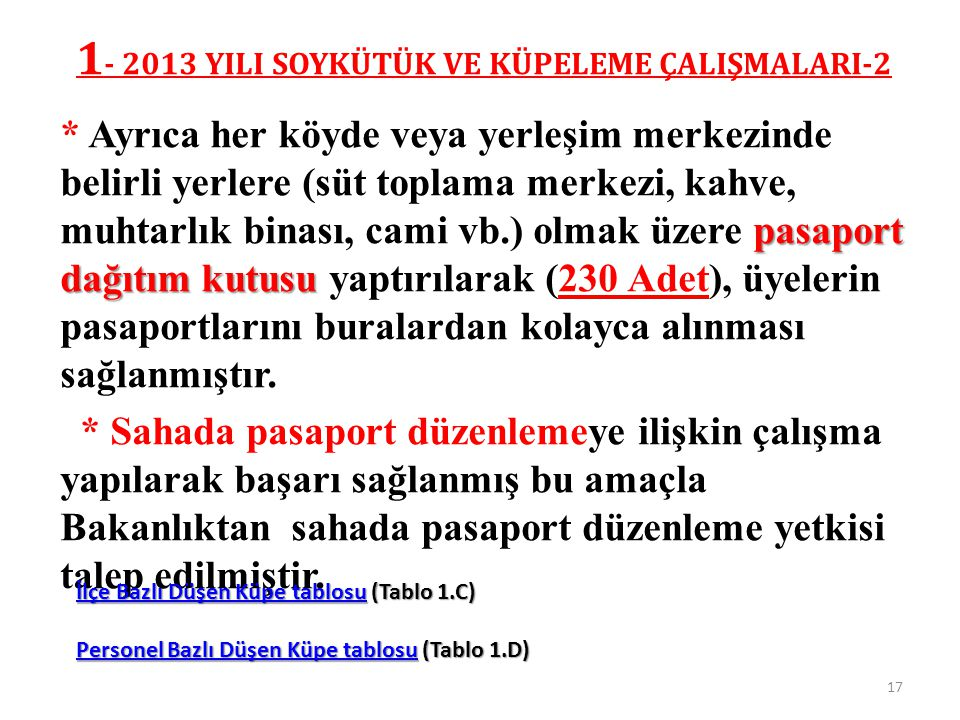1- 2013 YILI SOYKÜTÜK VE KÜPELEME ÇALIŞMALARI-2