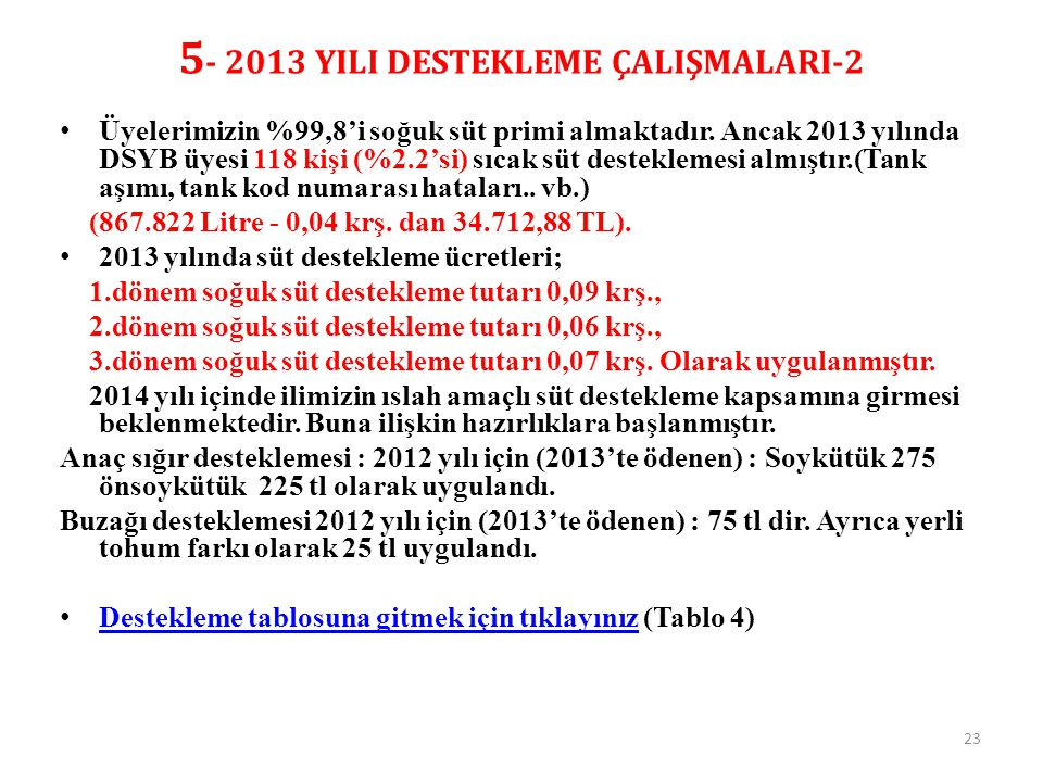 5- 2013 YILI DESTEKLEME ÇALIŞMALARI-2