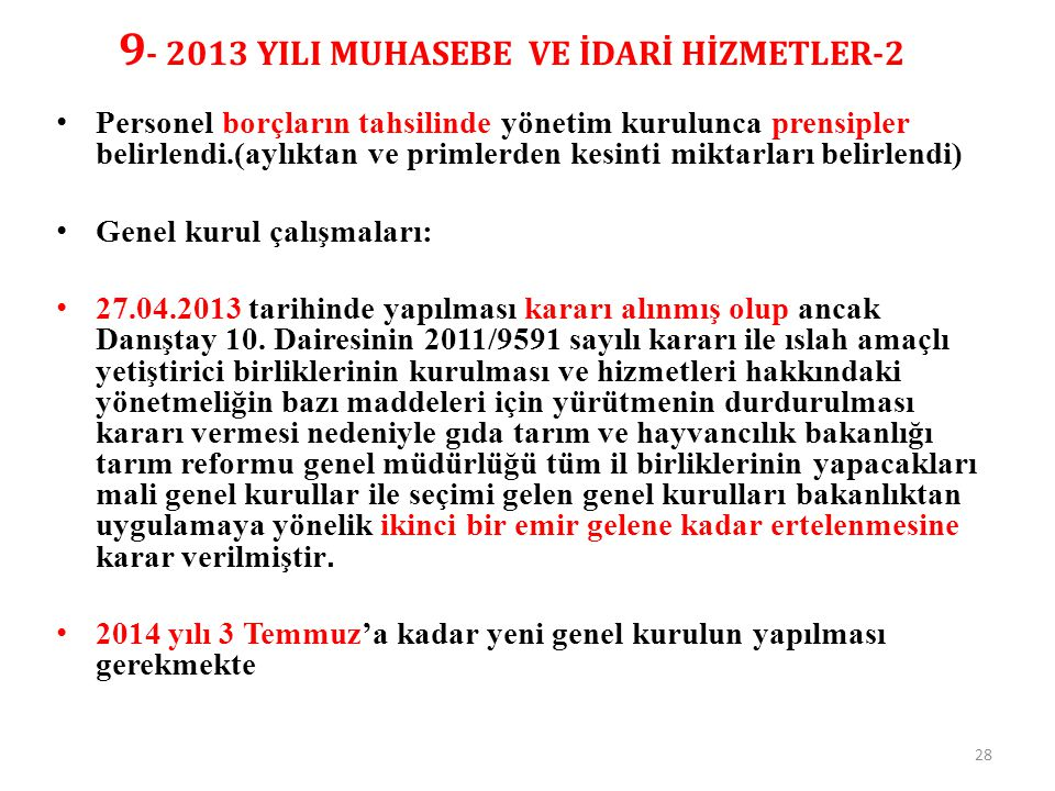 9- 2013 YILI MUHASEBE VE İDARİ HİZMETLER-2
