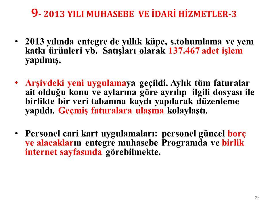 9- 2013 YILI MUHASEBE VE İDARİ HİZMETLER-3