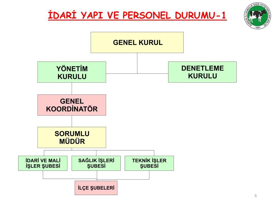 İDARİ YAPI VE PERSONEL DURUMU-1