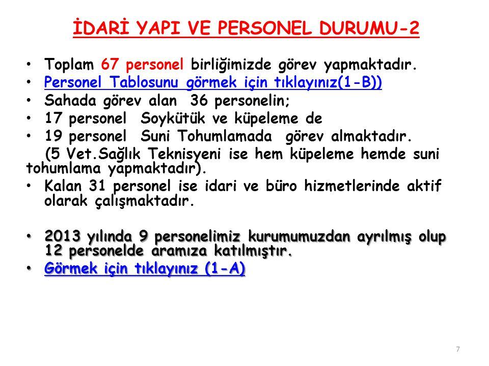 İDARİ YAPI VE PERSONEL DURUMU-2