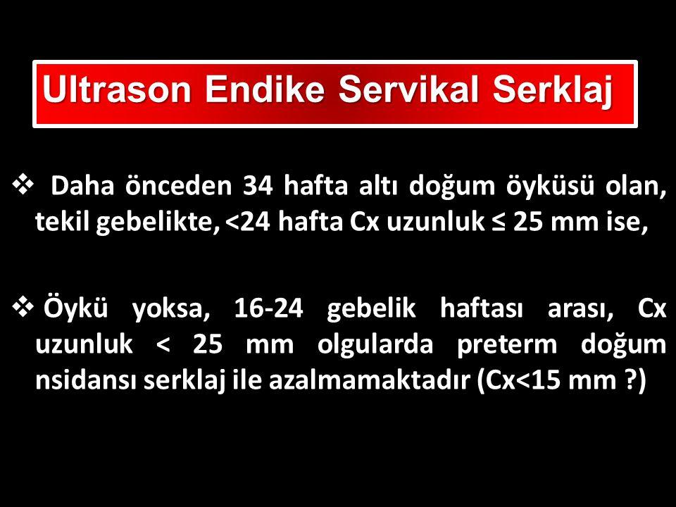 Ultrason Endike Servikal Serklaj