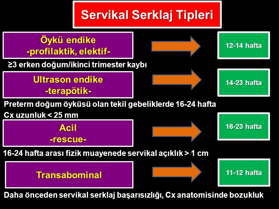 Servikal Serklaj Tipleri