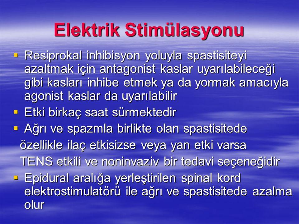 Elektrik Stimülasyonu