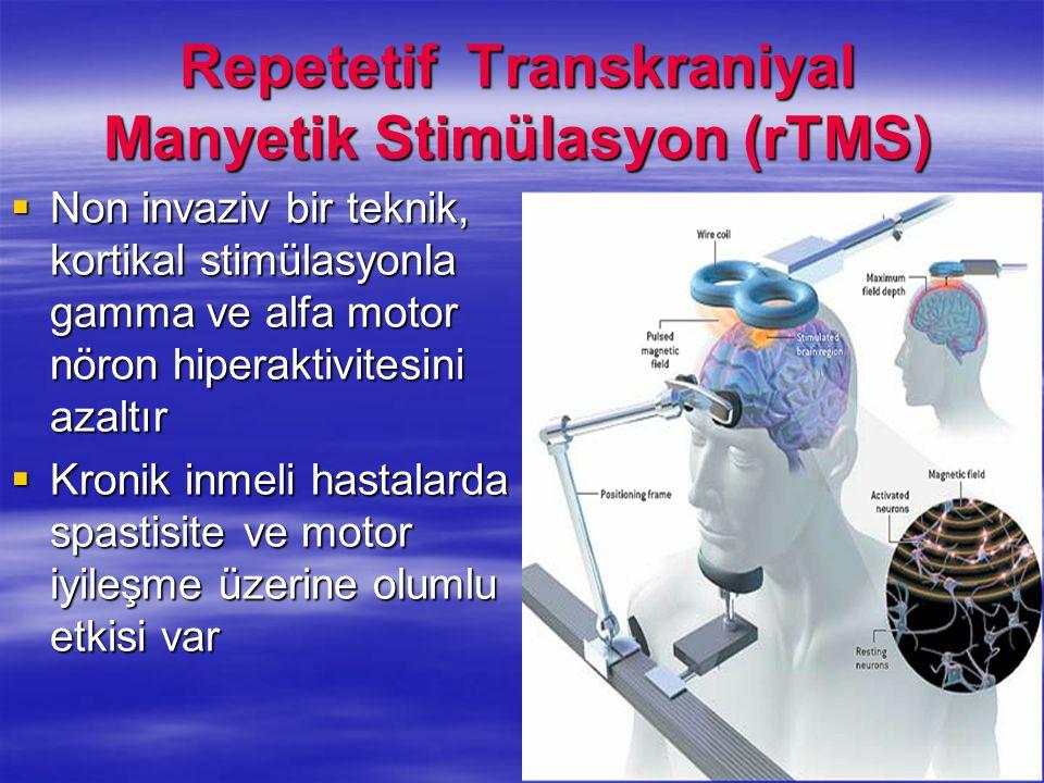 Repetetif Transkraniyal Manyetik Stimülasyon (rTMS)