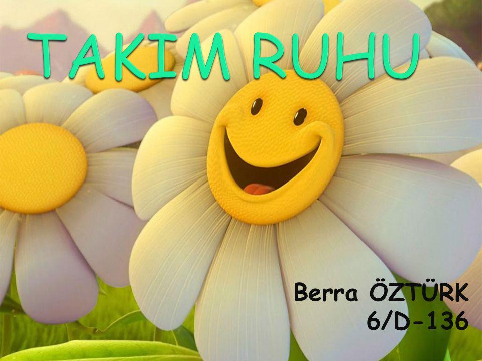 TAKIM RUHU Berra ÖZTÜRK 6/D-136