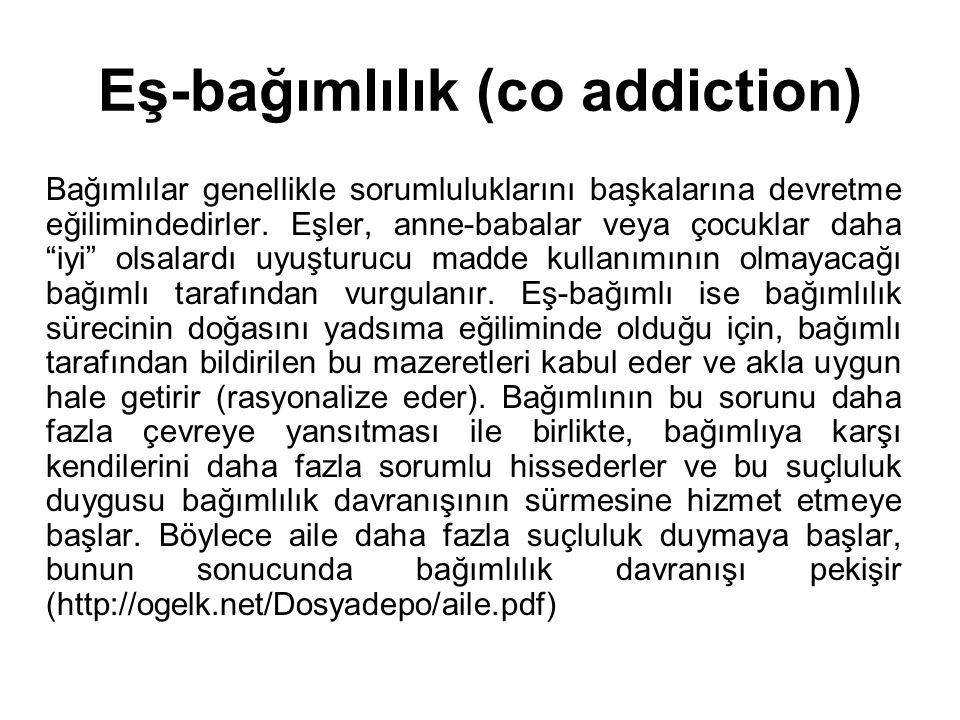Eş-bağımlılık (co addiction)