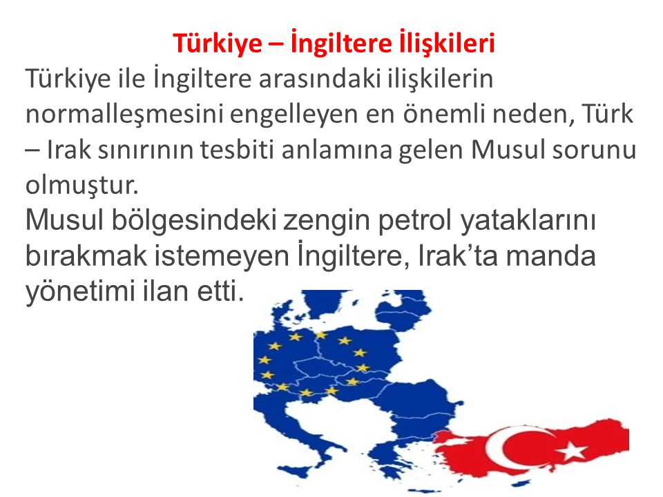 Türkiye – İngiltere İlişkileri