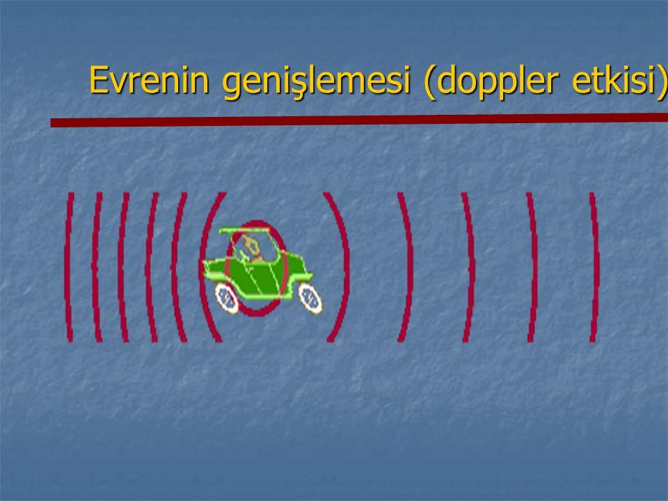 Evrenin genişlemesi (doppler etkisi)