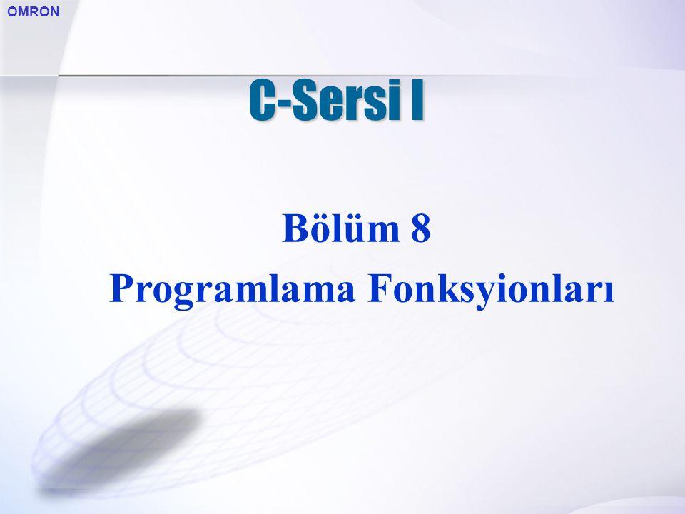 Programlama Fonksyionları