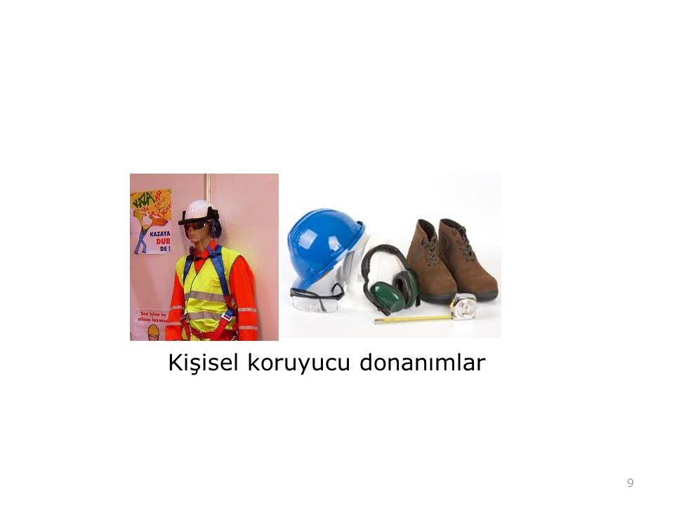Kişisel koruyucu donanımlar