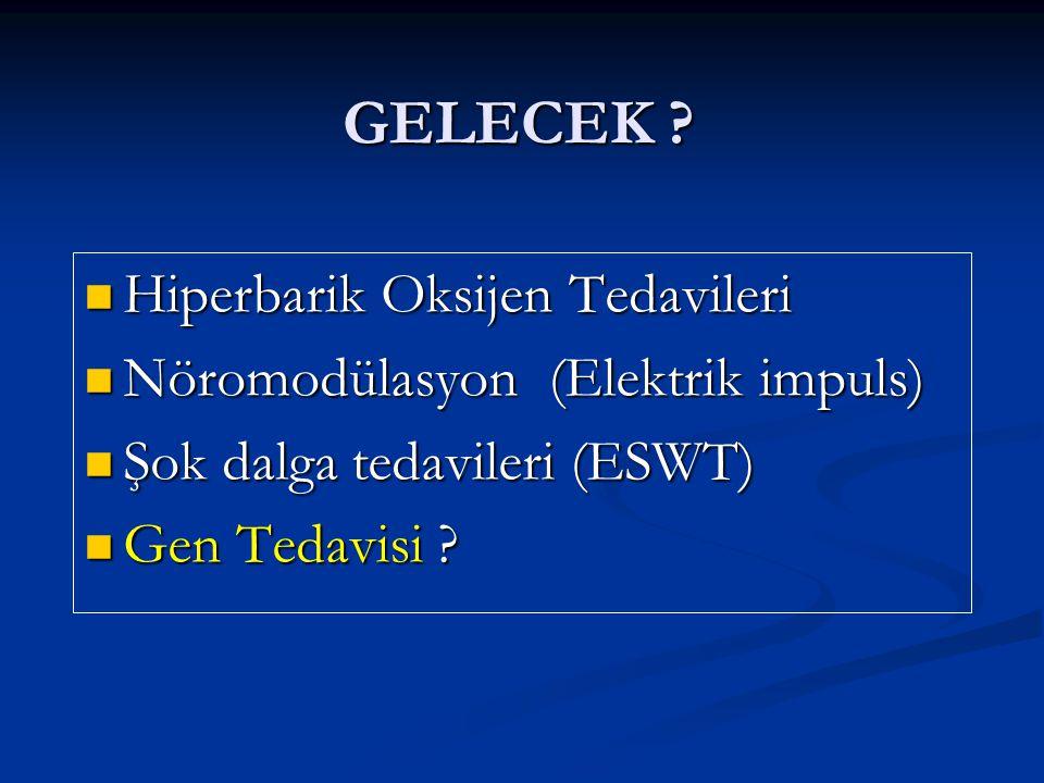 GELECEK Hiperbarik Oksijen Tedavileri