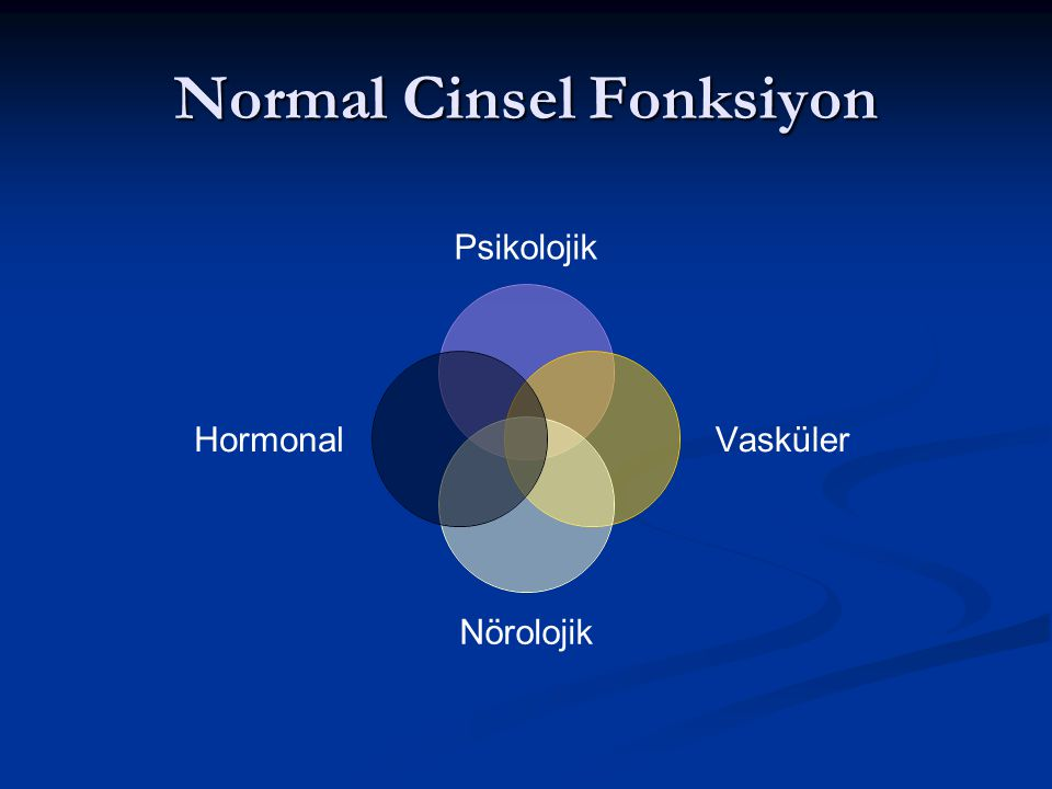 Normal Cinsel Fonksiyon