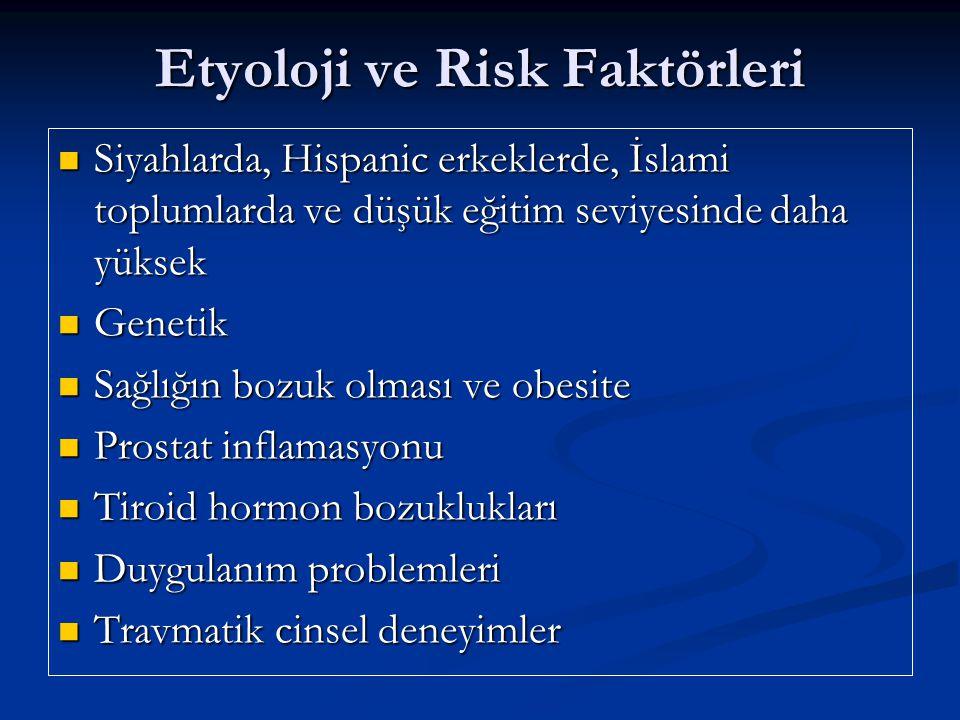Etyoloji ve Risk Faktörleri