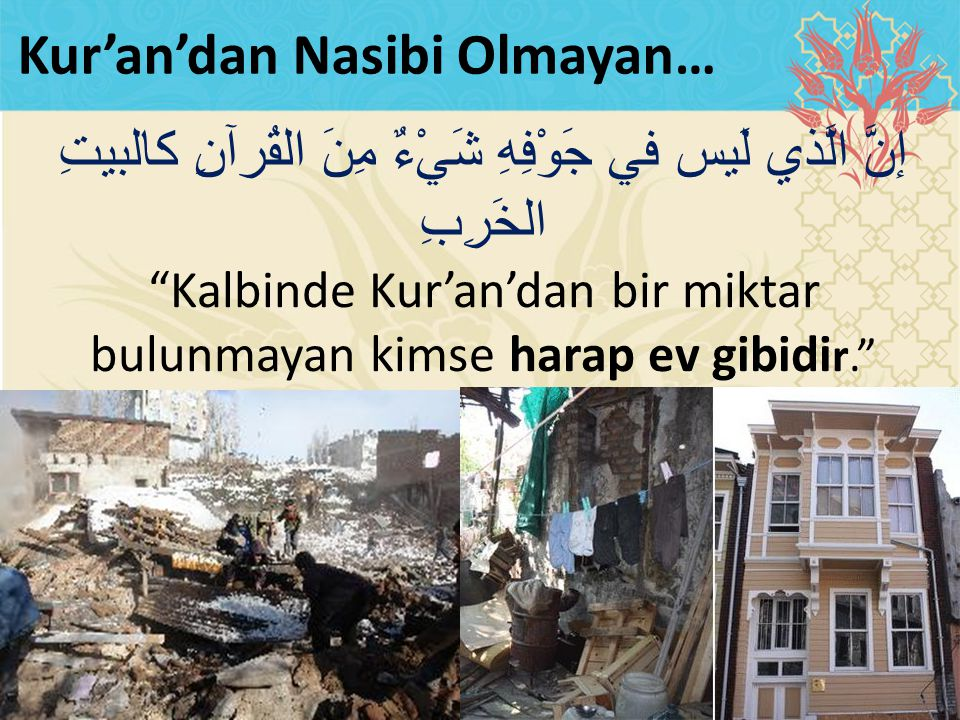 Kur'an'dan Nasibi Olmayan…