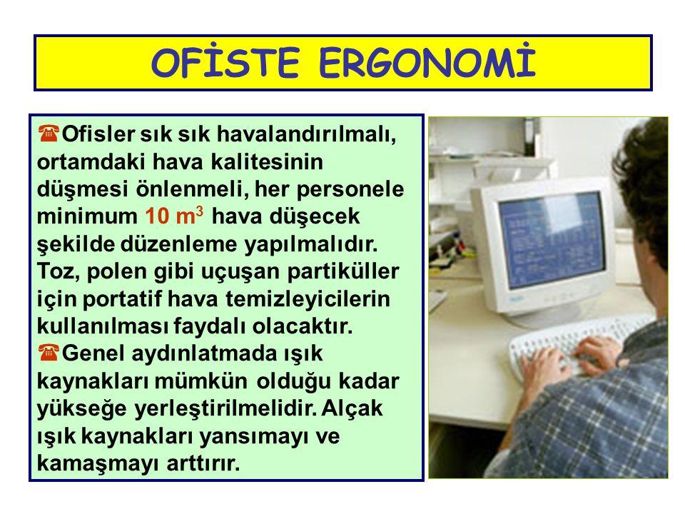 OFİSTE ERGONOMİ