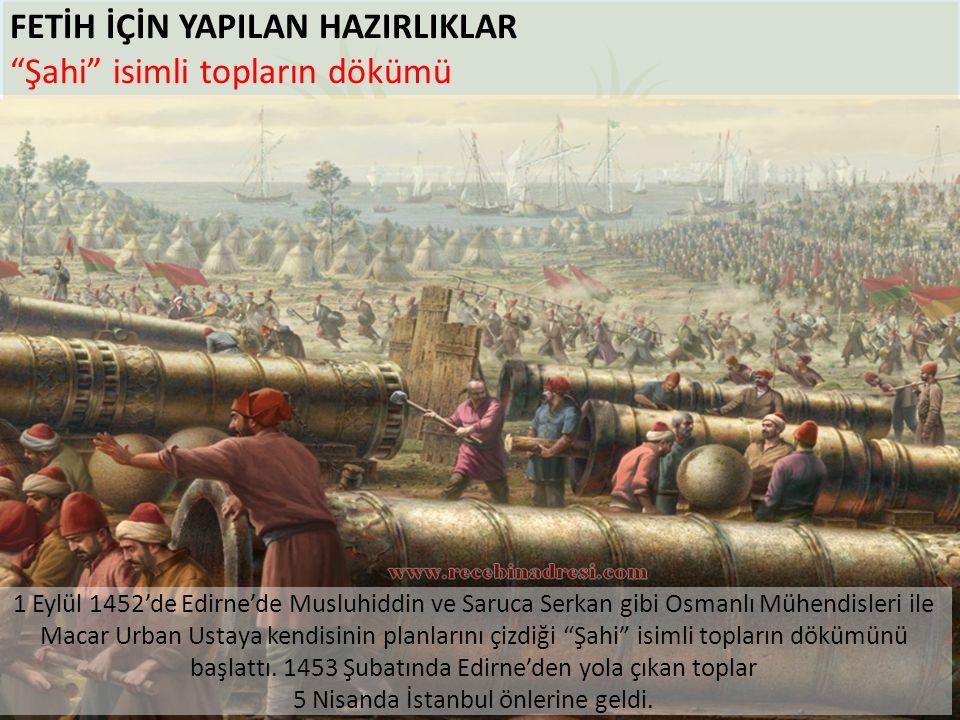 5 Nisanda İstanbul önlerine geldi.