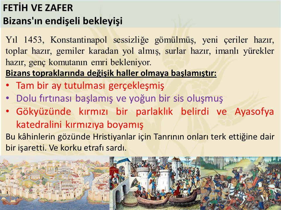 Bizans ın endişeli bekleyişi