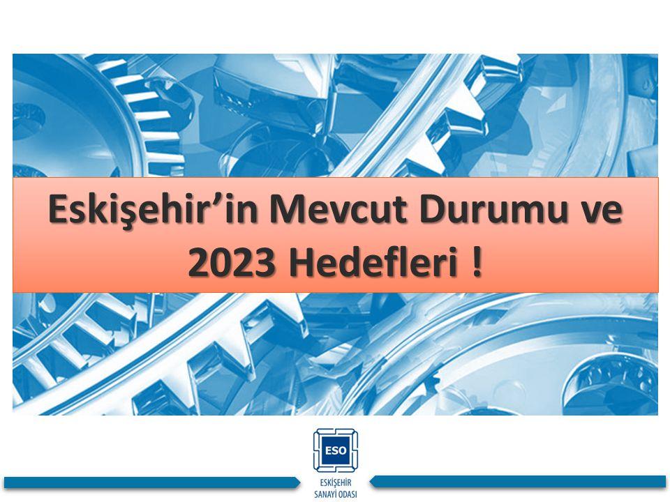 Eskişehir'in Mevcut Durumu ve 2023 Hedefleri !