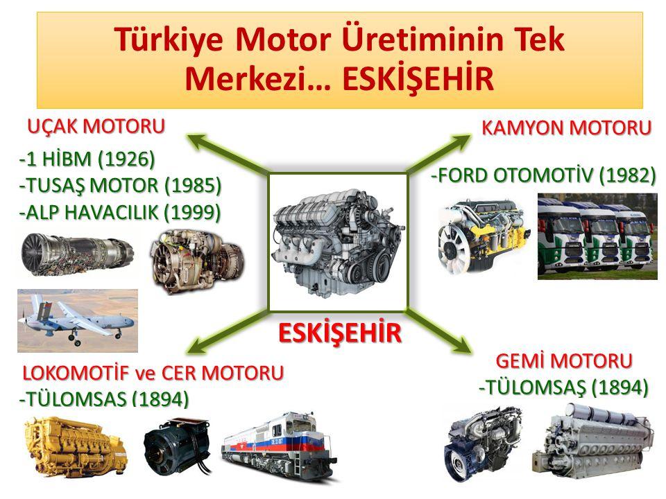 Türkiye Motor Üretiminin Tek Merkezi… ESKİŞEHİR