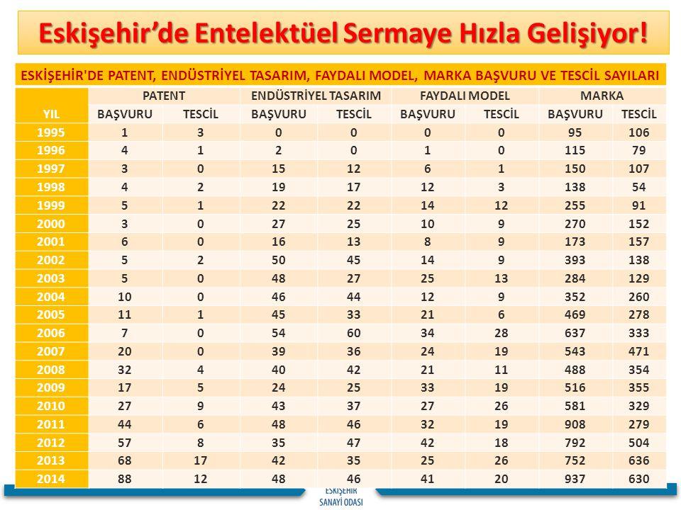 Eskişehir'de Entelektüel Sermaye Hızla Gelişiyor!