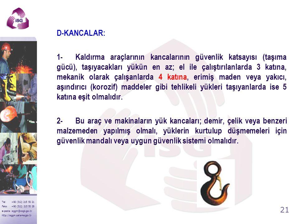 D-KANCALAR: