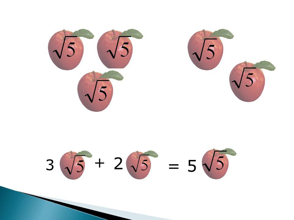 + 2 3 = 5